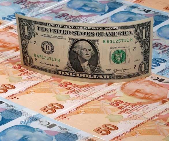 الليرة التركية تنخفض أمام العملات الأجنبية