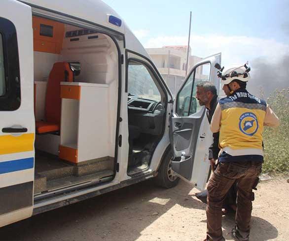 الدفاع المدني خروج مركز كفرنبل عن الخدمة والانتقال لحالة الطوارئ