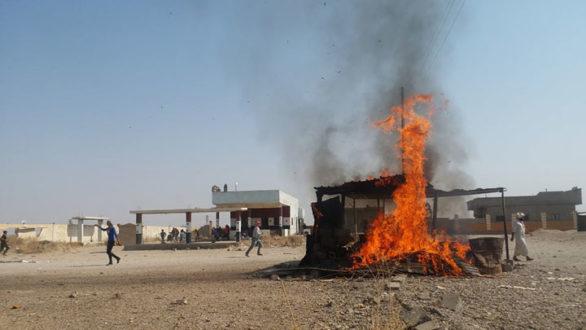 مظاهرات في ريف دير الزور تطالب بطرد النظام من المنطقة