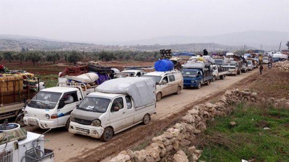 منسقو الاستجابة: نزوح الآلاف من ريف حلب