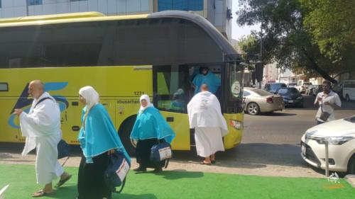ألبوم وصول الحجاج السوريّين إلى أماكن إقامتهم في مكة المكرمة 1440هـ