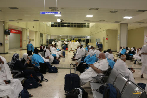 ألبوم :إحرام الحجّاج السوريين في مطار مدينة غازي عنتاب 1440هـ