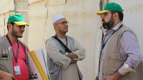 ألبوم: جولة تفقدية لخيم الحجاج السوريين في عرفة ومنى 1440 هـ