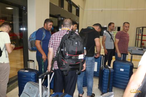 ألبوم :تجمّع حجّاج بيت الله الحرام السوريين في مطار مدينة غازي عنتاب 1440 هـ